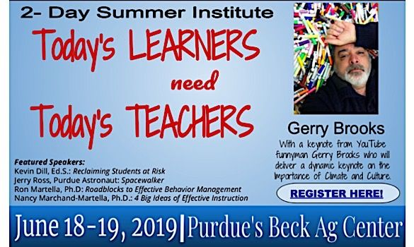 Summer Institute - Today's Learners need Today's Teachers